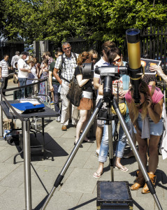 Flamsteed Solar Viewing at the ROG