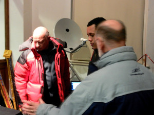 Clive and Robin at the Radio Astronomy Stand