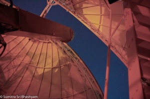 Looking at Cassiopeia with Flamsteed AS, from the 28 inch dome at the ROG, Greenwich