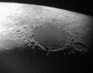 iPhone image of Mare Crisium through the 28-inch telescope