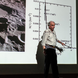 Prof Ian Crawford explains the lunar crater problem