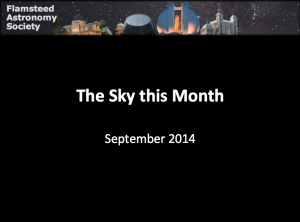 Sky this Month: September 2014