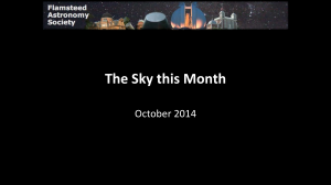 The Sky this Month: October 2014