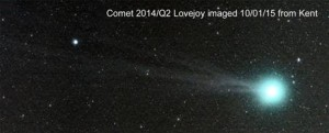 Comet 2014/Q2 Lovejoy by Rupert Smith