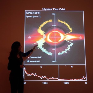 Lucie explains the Solar Wind