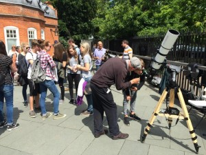Solar Viewing on the Summer Solstice at the ROG