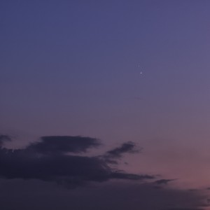 Jupiter and Venus Conjunction