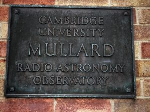 Cambridge University Mullard Radio Astronomy Observatory