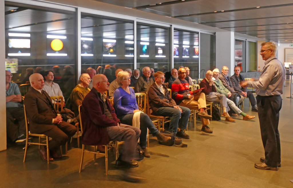 History of Astronomy talk audience
