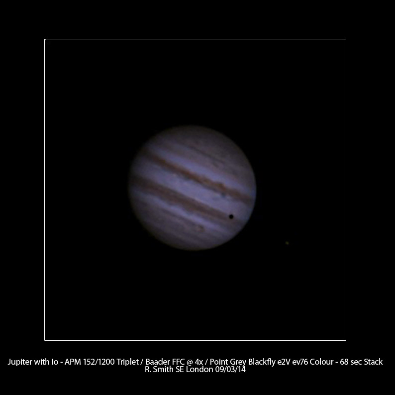 Jupiter with Io by Rupert Smith