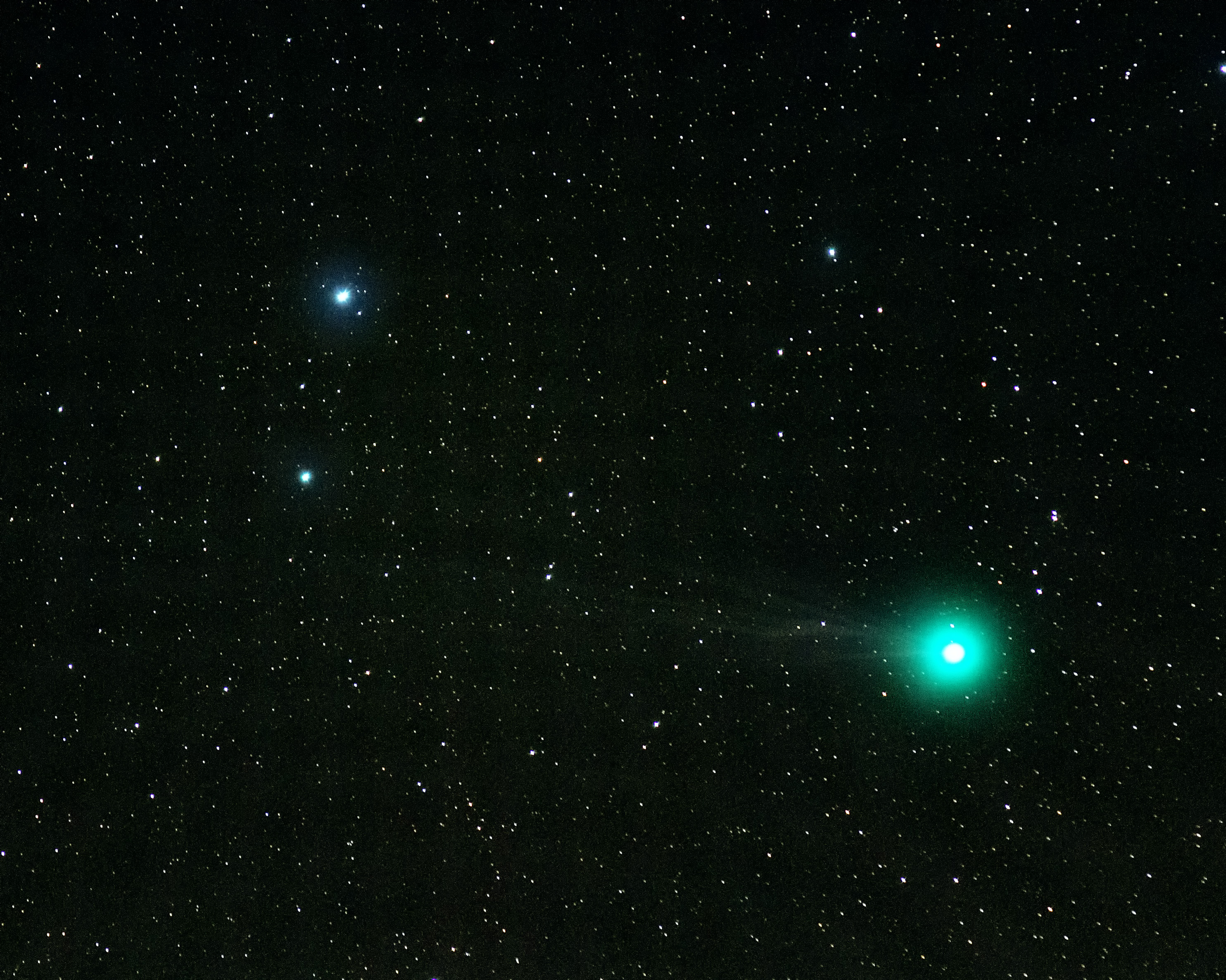 Comet C/2014 Q2 Lovejoy by Mike Meynell