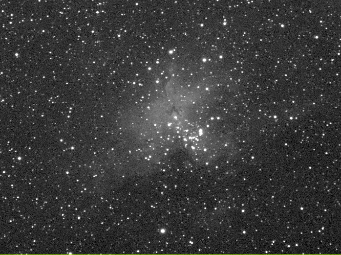 M16 - The Eagle Nebula. Open Cluster