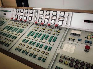 Control Panel for The Ryle Telescope
