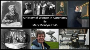 History of Women in Astronomy